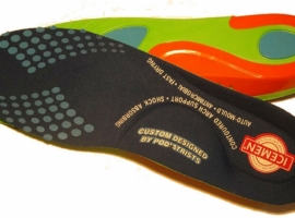 Shoe insoles for health and comfort
